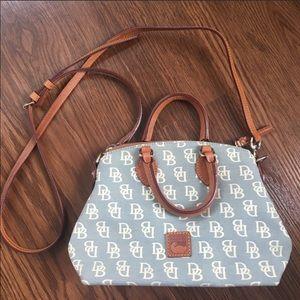 Dooney & Bourke Light Denim Crossbody Bag